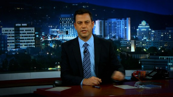 Jimmy Kimmel apologizes on Monday for his skit on China and America's debt problem.