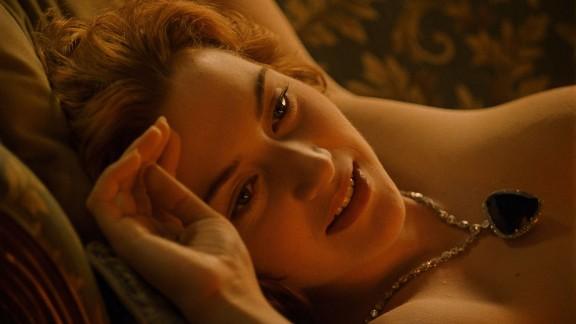 "Kate Winslet stars as Rose in ""Titanic"""
