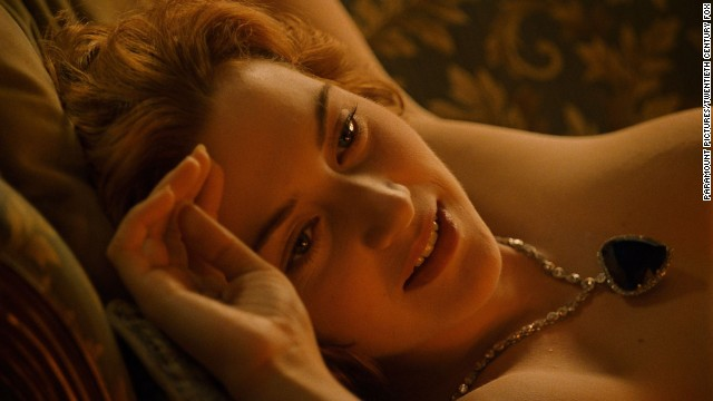 "Kate Winslet stars as Rose in ""Titanic"""