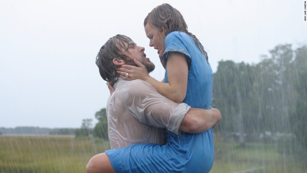 """The Notebook"" has become the gold standard for romantic movies, but one scene in particular will have viewers pausing to rewind. When Ryan Gosling's Noah and Rachel McAdams' Allie Calhoun reunite, not even pouring rain can dampen the sensual scene that follows."