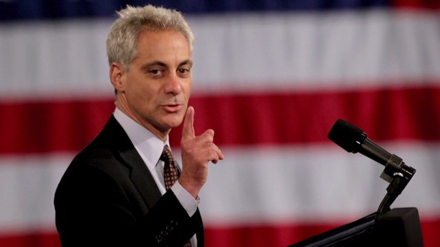 Chicago mayor battles pension problems