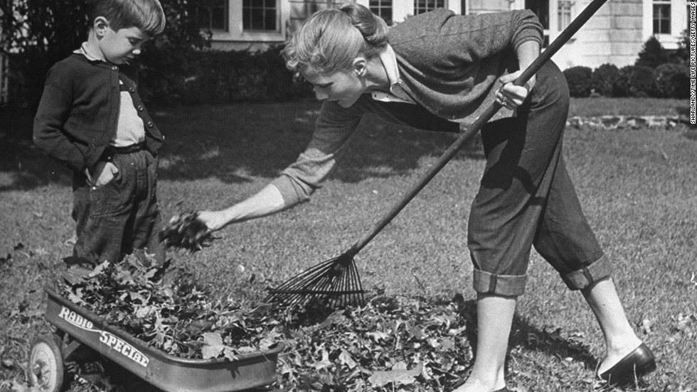 "Sometimes keeping up with the household chores is exercise enough. Raking leaves can <a href=""http://www.self.com/calculatorsprograms/calculators/caloriesburned/raking_leaves"" target=""_blank"">burn up to 300 calories an hour</a> and lead to some seriously toned arms. Plus, jumping in the leaves is fun for the whole family."