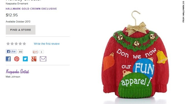 "The traditional line from the famous Christmas song is ""Don we now our gay apparel."""