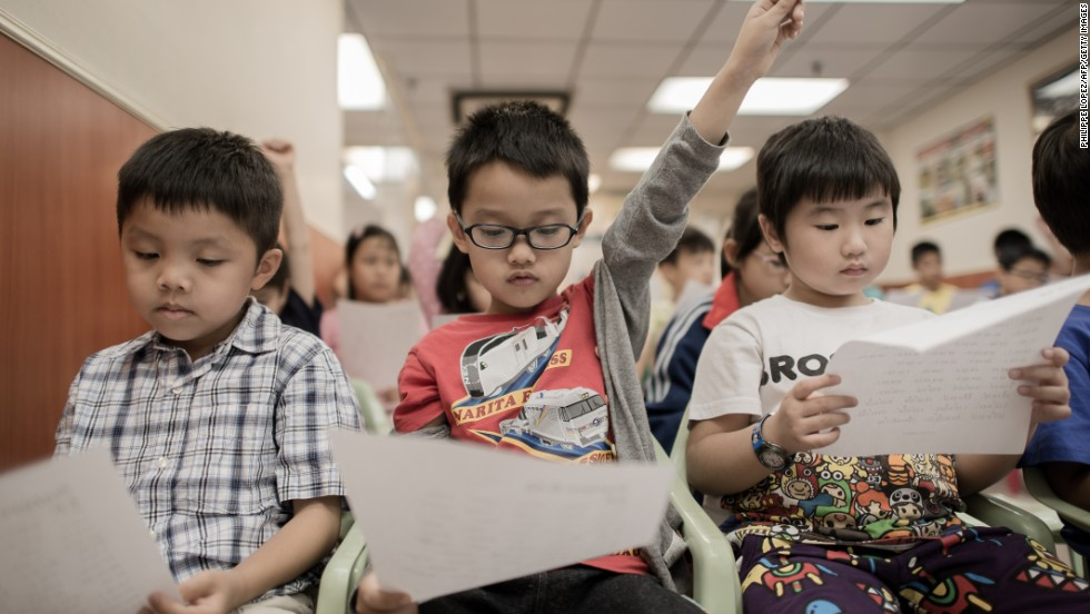 "In Hong Kong, where formal pre-school education begins at the age of three, many <a href=""http://cnn.com/2013/10/30/world/asia/hong-kong-kindergarten-competition/"">prospective parents begin mapping out education plans</a> before their children are born."