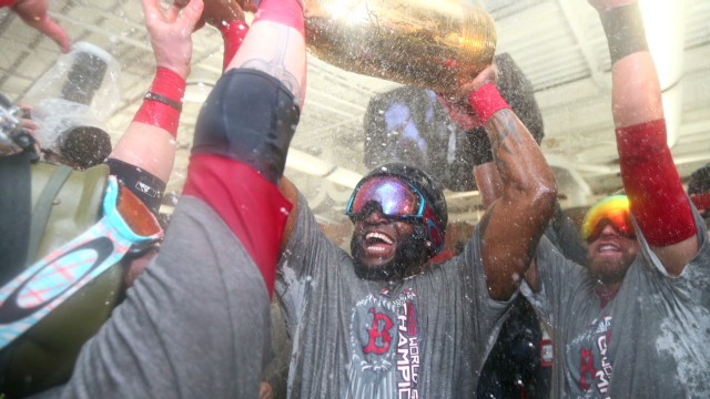 World Series MVP Ortiz on winning title