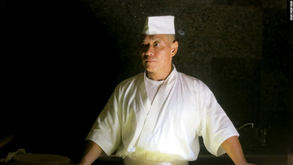 'Naomichi Yasuda was until recently, the chef partner of one of the very best, if not the best sushi restaurant in New York, the eponymous Sushi Yasuda.' says Anthony Bourdain. 'A short while ago, under very mysterious and completely misreported circumstances, he left the Manhattan restaurant which still bears his name, and at age 52, moved to Tokyo to start all over again.' So Bourdain decided to track him down.