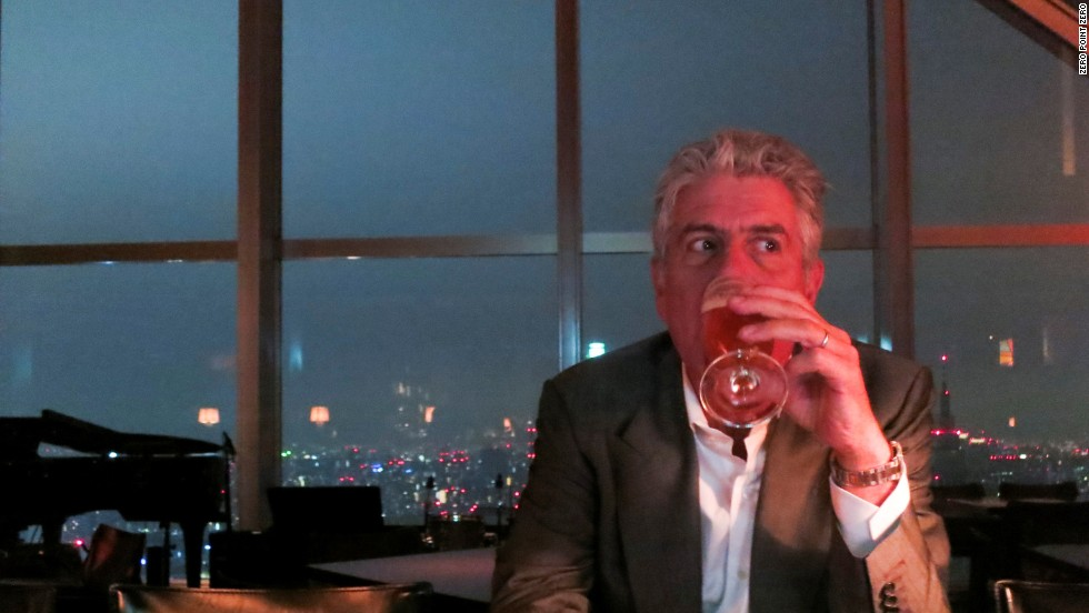 'It is a humbling experience. You come here and you see how much precision, you see how much perfection is possible -- with so few components. And you come away from that changed, and a little frightened,' says Bourdain.