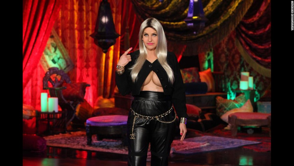 Perhaps Ellen DeGeneres was really impressed with Miley Cyrus' costume for Halloween 2012. In 2013, the talk show host decided that she, too, wanted to dress up as Nicki Minaj.
