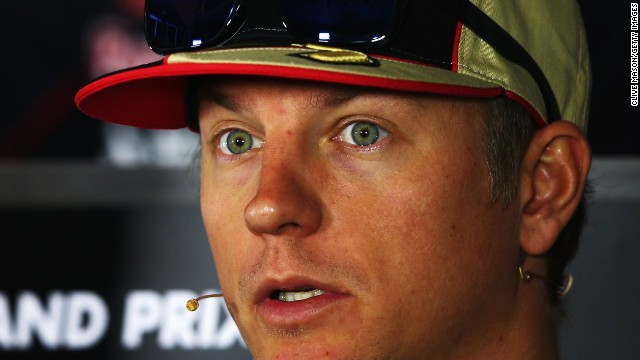 Kimi Raikkonen is at odds with the Lotus team ahead of his move to Ferrari for the 2014 season.