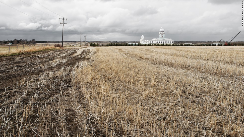 Take a drive to the northern outskirts of Edmonton, Alberta, along highway 15 and you can't miss the ornate white facade of Nanaksar Gurdwara (a Sikh house of worship) rising up out of the prairie.