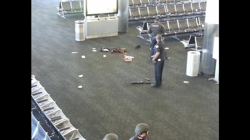 This Photo, From Terminal 3, Shows What Appears To Be A Weapon On The