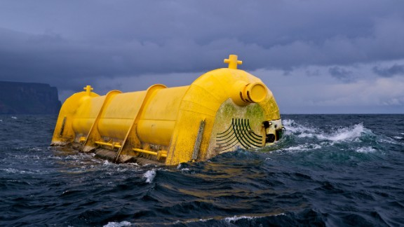 "Are waves an even better source of ""free"" energy than wind? The Scots think so: the world"