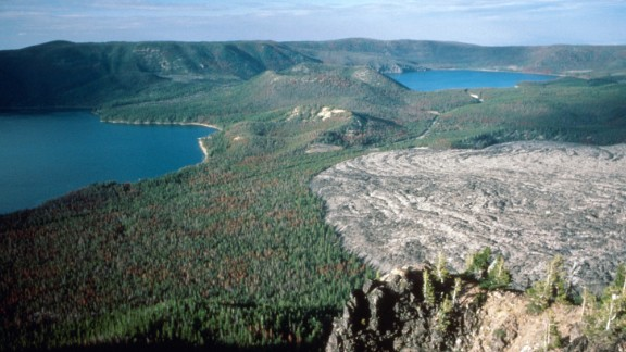 "Volcano-powered underground turbines sound like the perfect power source... for a Hollywood super-villain. But two companies from Oregon are planning to make it a reality experimenting with the new technology in the land around the Newberry Volcano in Oregon (pictured). Critics have called the process ""volcano fracking"" -- which sound, well, risky."