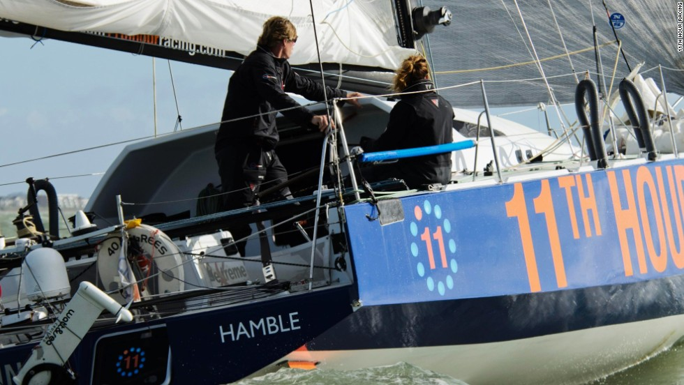 Both Windsor and Jenner have enjoyed previous success in long-distance ocean racing events and have been in intense training for the Transat Jacques Vabre.