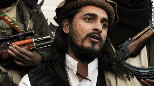 Former Tehreek-e-Taliban Pakistan chief Hakimullah Mehsud, who was killed in a drone strike on Friday.