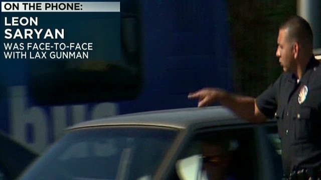 Face-to-face with LAX gunman