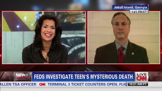 Feds investigate teen's mysterious death