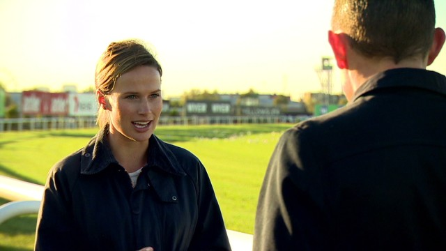 Trainer a rising star in horse racing