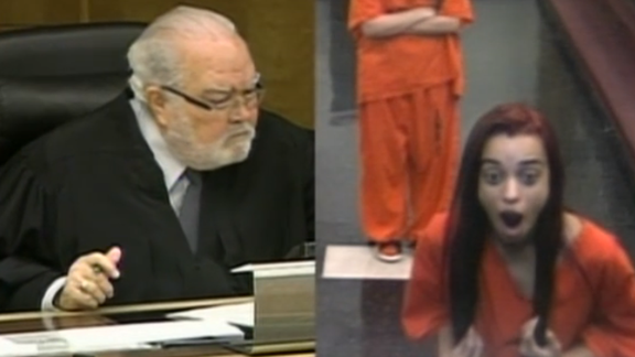 An 18-year-old learns the hard way that flipping a judge the bird is not exactly the best idea.
