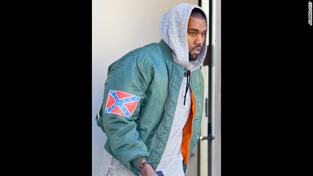 9aad35ba Kanye West co-opts Confederate flag: Publicity stunt? - CNN