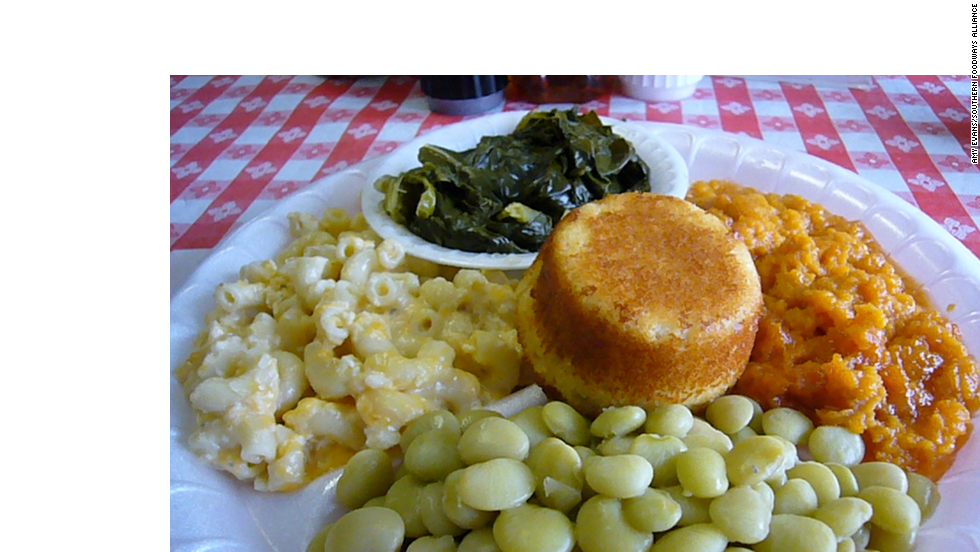 A vegetable plate from Weaver D's.