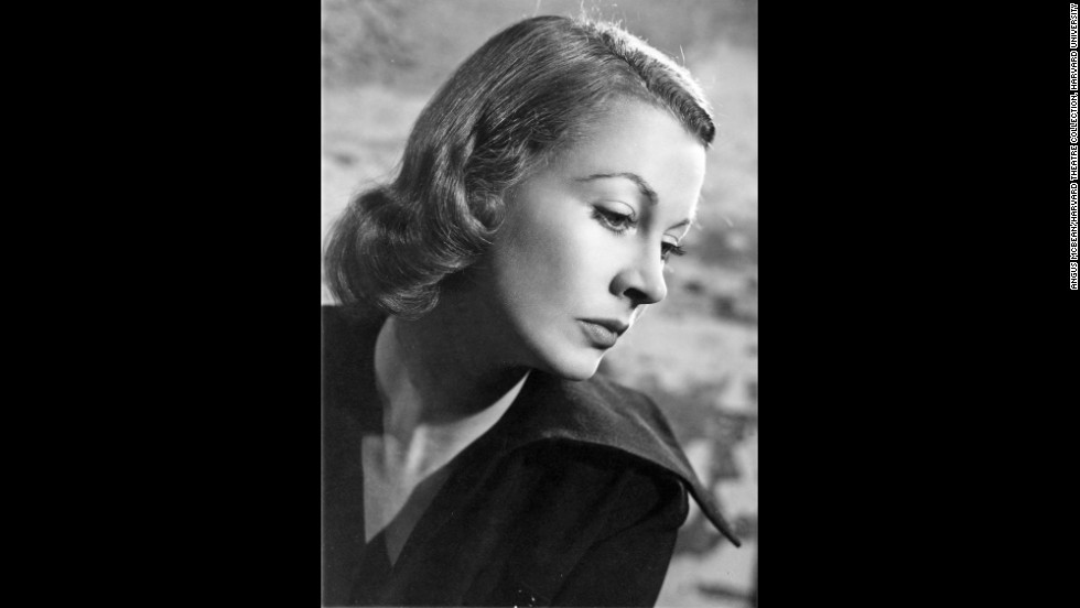"In 1949, Leigh bleached her hair blond for her stage role as Blanche DuBois in ""A Streetcar Named Desire."" The play was too physical for her to wear a wig, so she chose hair coloring, Bean said. ""It shows her willingness to transform herself. Critics had a hard time looking past her looks, so she tried to physically turn into a character.""  Leigh would later win a second Best Actress Oscar for her 1951 film portrayal of DuBois.<br /><em>Image courtesy of ""Vivien Leigh: An Intimate Portrait"" (Running Press)</em>"