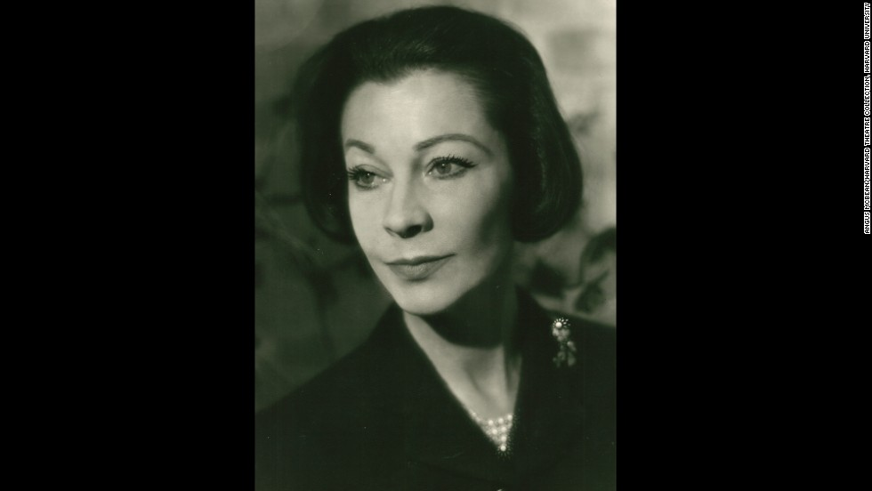 "McBean's last portrait of Leigh was taken in 1965, two years before her death at 53. McBean's handwritten inscription is found on the back of the print.<br /><em>Image courtesy of ""Vivien Leigh: An Intimate Portrait"" (Running Press)</em>"