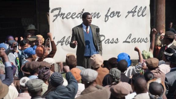 British actor Idris Elba plays Nelson Mandela in the long-awaited movie adaptation of the anti-apartheid icon's autobiography.