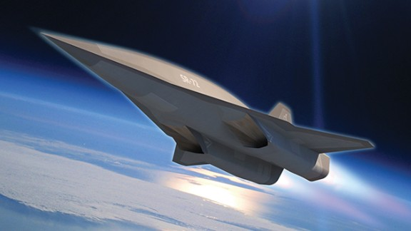 """Lockheed engineers are <a href=""""http://www.cnn.com/2013/11/05/tech/innovation/new-spy-plane/index.html"""">developing a hypersonic aircraft</a> that will go twice the speed of the SR-71 Blackbird, which goes three times the speed of sound. That aircraft, seen in this photo illustration, is called the SR-72 or """"Son of Blackbird."""" Take a look through the gallery to see other stealth and spy planes."""