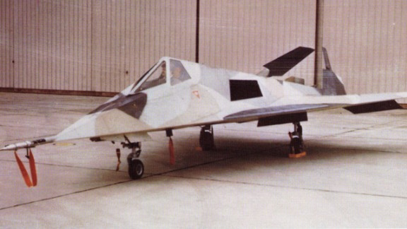 """Lockheed's """"Have Blue"""" prototype was the predecessor of the famed Nighthawk."""