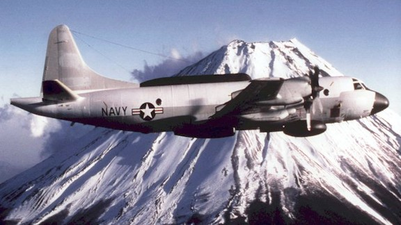 The EP-3E Aries II aircraft is a reconnaissance aircraft that uses electronic surveillance equipment for its primary mission. One of them was in the news in April 2001 when it collided with a Chinese jet.
