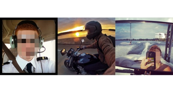 Car drivers aren't the only people posting #drivingselfies. People steering boats, motorcycles and even planes are also posting shots to sites like Instagram.