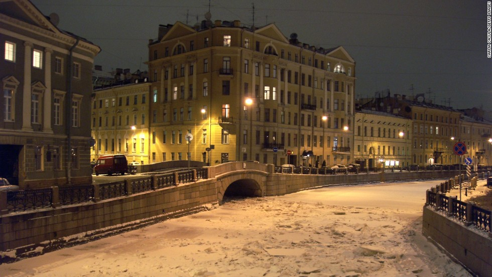 The Drawbridges Of St Petersburg