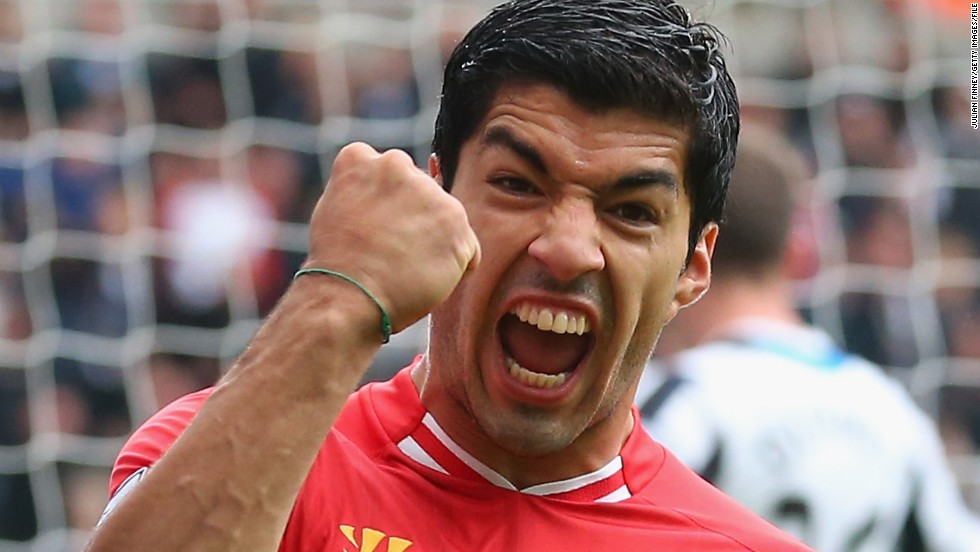Luis Suarez's goals have fueled Liverpool's title challenge in the English Premier League this season.