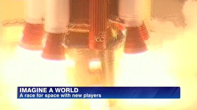 A race for space with new players