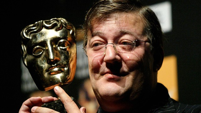 British actor and writer Stephen Fry was one of the first to participate in the Wikipedia voice intro project.