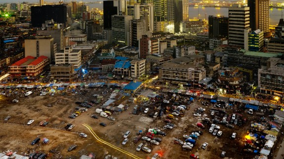Also exhibiting at the festival, Centre of Excellence (2012) -- a series of photos of Lagos by by Dutch photographer Hans Wilschut.