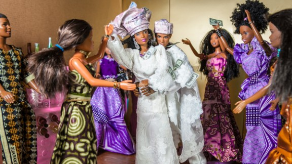 The Black Barbie Traditional Wedding (2012), by Obi Nwokedi, a Nigerian portrait and wedding photographer based in London