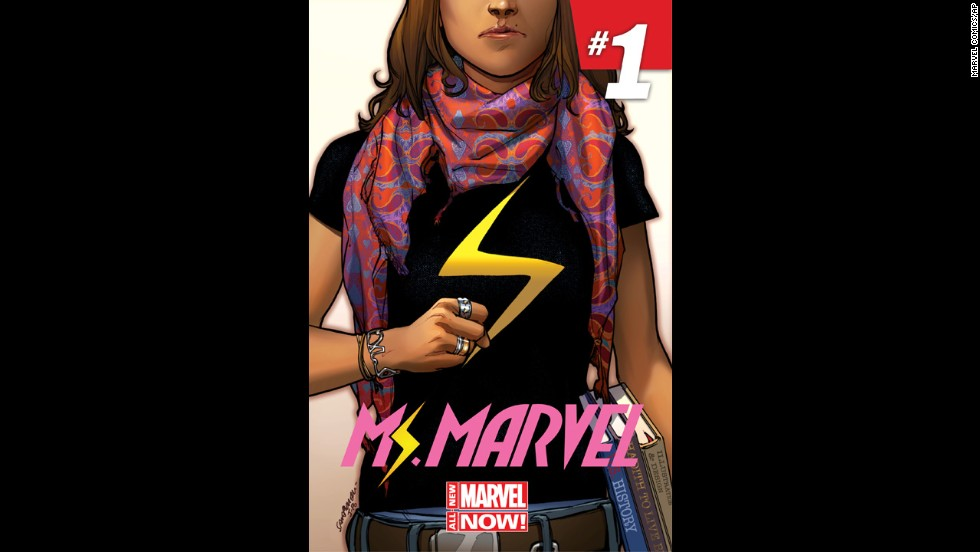 "Before Thor, Marvel introduced a<a href=""http://www.cnn.com/2013/11/06/showbiz/ms-marvel-muslim-superhero/""> Muslim-American teen</a> superhero: Kamala Khan, a New Jersey teenager who transforms into Ms. Marvel."