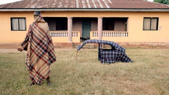 My Granddad's Car (2012), by Nigerian/British artist Karl Ohiri.