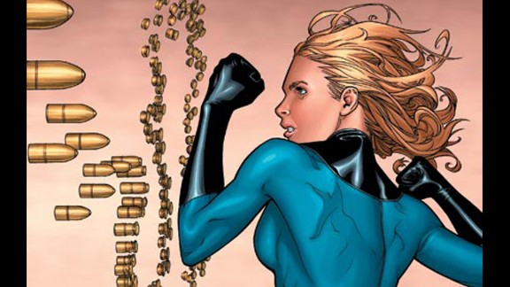 Sue Storm, Marvel's Invisible Woman, made her first appearance in 1961.