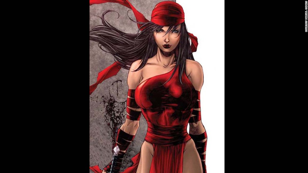 Marvel's Elektra Natchios made her first appearance in 1981.