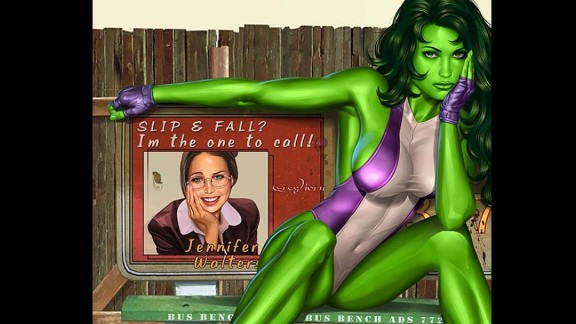 Jennifer Walters, Marvel's She-Hulk, made her first appearance in 1980.