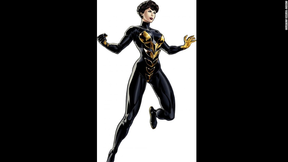 Janet Van Dyne, Wasp, Made Her First Appearance In Marvel Comics In 1963.  Photos: Most Awesome Female Superheroes