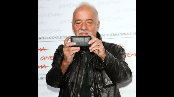 """Author: Paulo Coelho (@paulocoelho) has 8.9 million followers. His bio reads: """"Writer."""""""