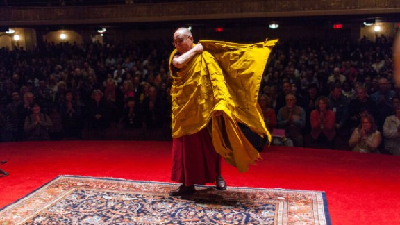"""Religious leader: The Dalai Lama (@DalaiLama) has 8.4 million followers. His bio reads: """"Welcome to the official Twitter page of the Office of His Holiness the 14th Dalai Lama."""""""