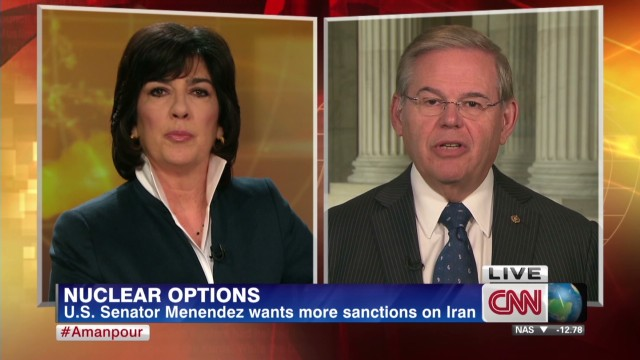 Senator calls for more Iran sanctions