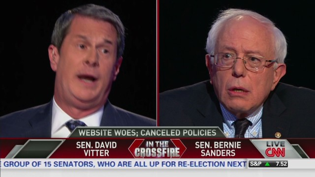 crossfire vitter sanders medicaid expansion_00002001.jpg