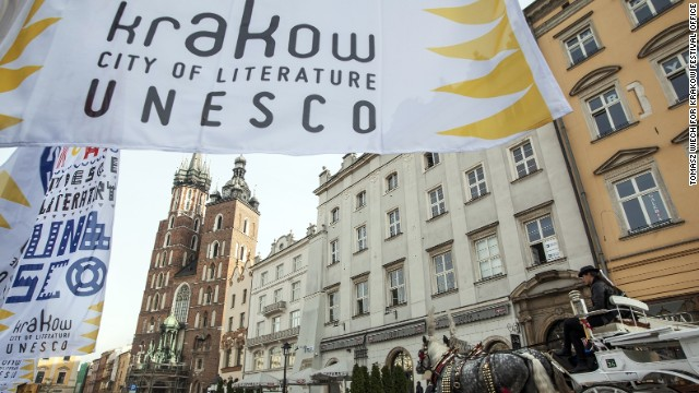 This October Krakow became the seventh Unesco City of Literature