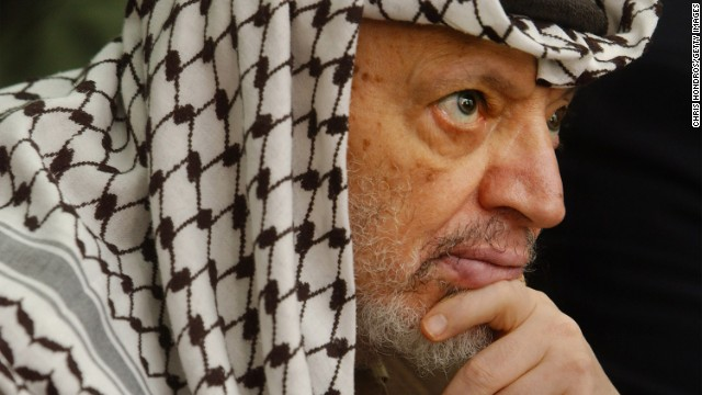 The attacks tied to the U.S. case occurred when the late Yasser Arafat led the Palestinian Authority.
